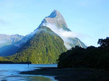 Meeresbrise und Neuseeland