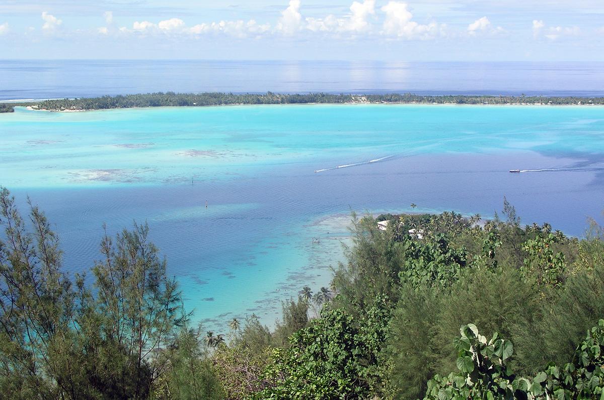 Französisch-Polynesien zu Land und zu Wasser
