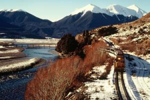 Neuseeland - Bahnerlebnis, Küsten - Berge - KiwiRail (Individualreise)