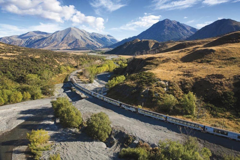 Neuseeland - komfortabel mit der Bahn
