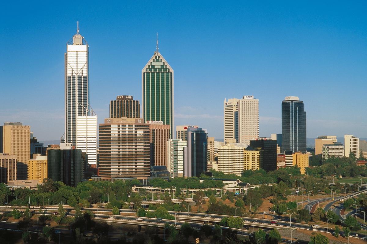 Perth  -  tief im Westen